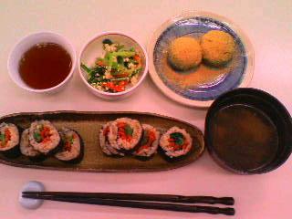 玄米巻き寿司